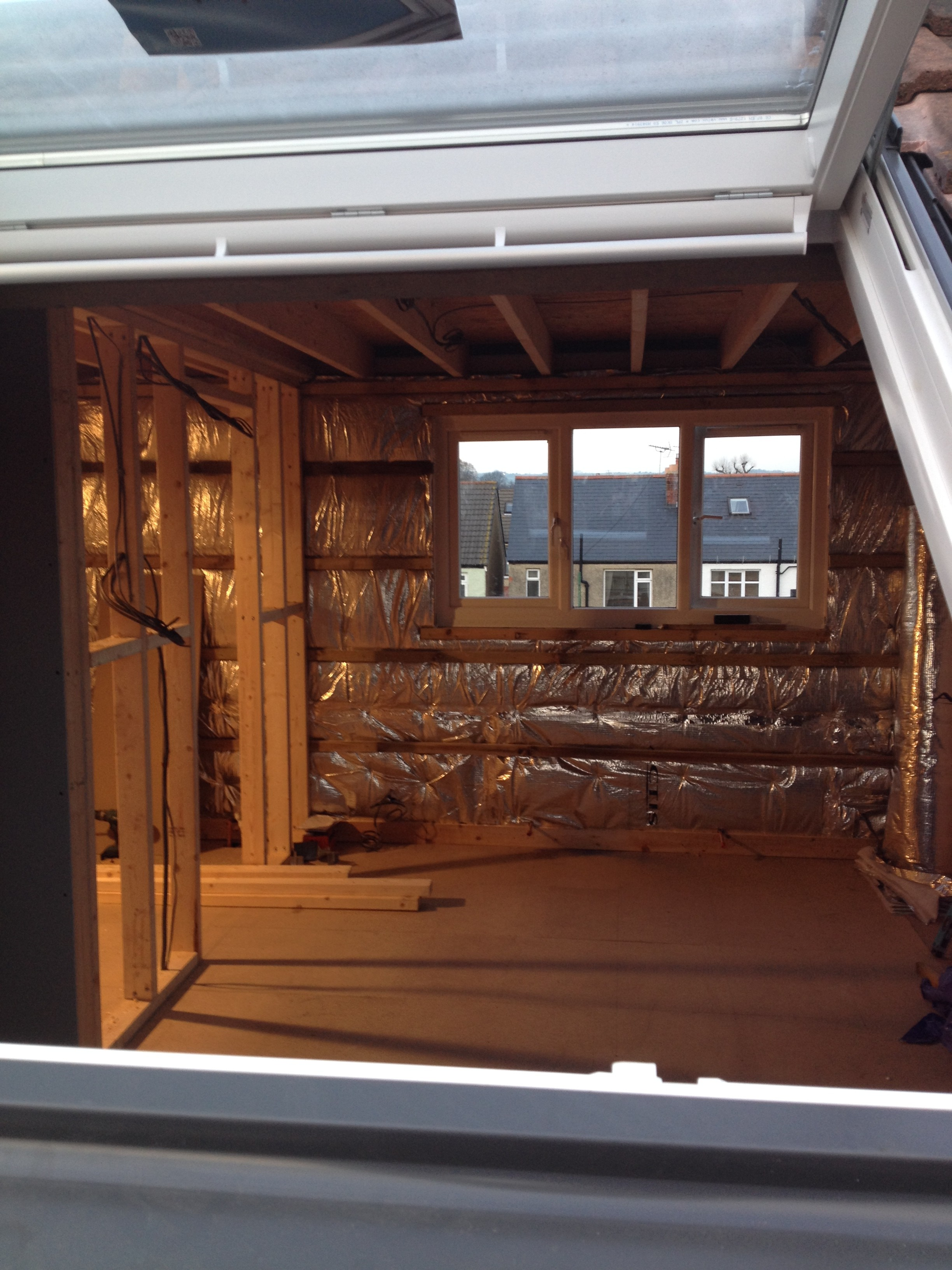 Loft conversion - insulation