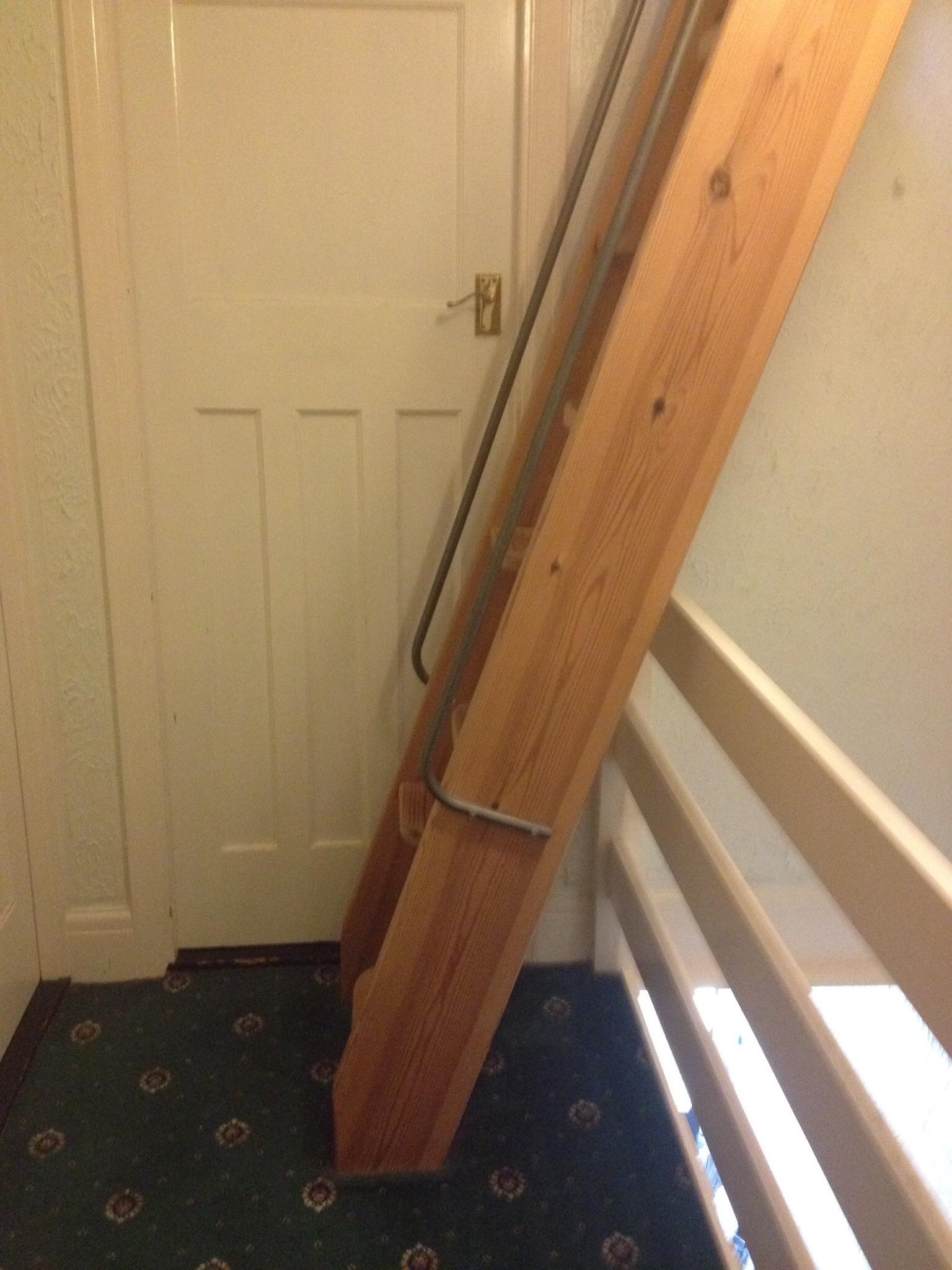Loft conversion - original ladder