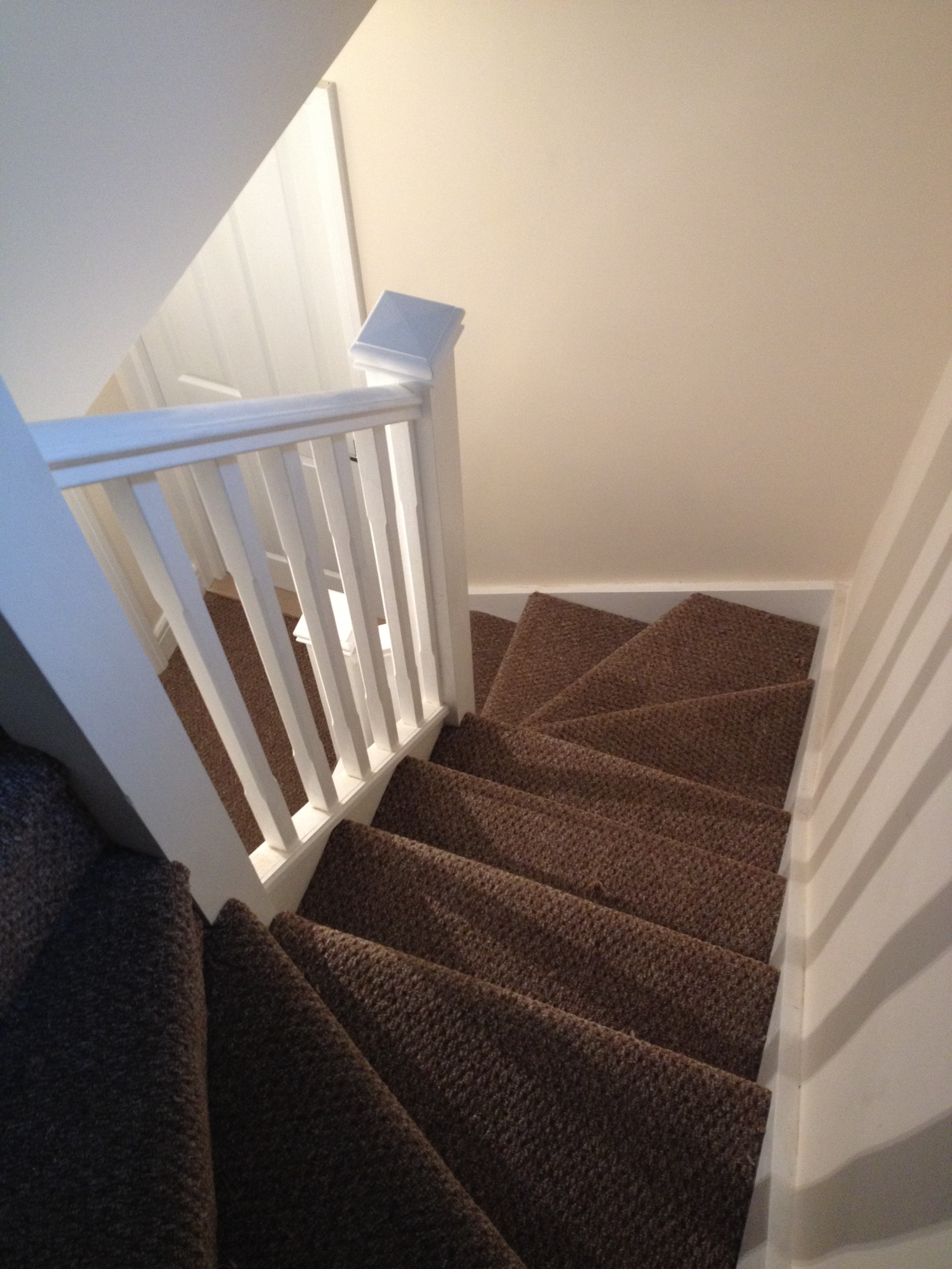 Loft conversion - staircase complete