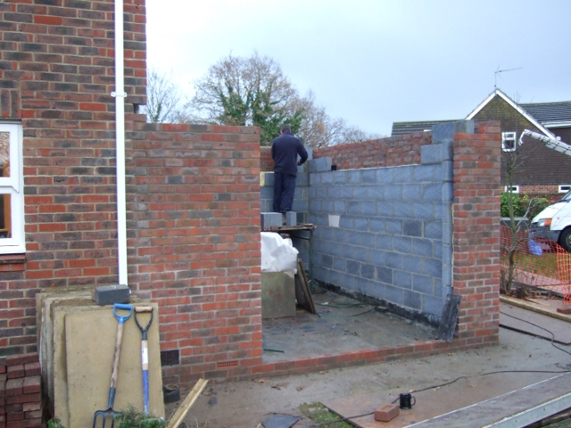 Extension 06 solent roof building for Garage extension cost estimate