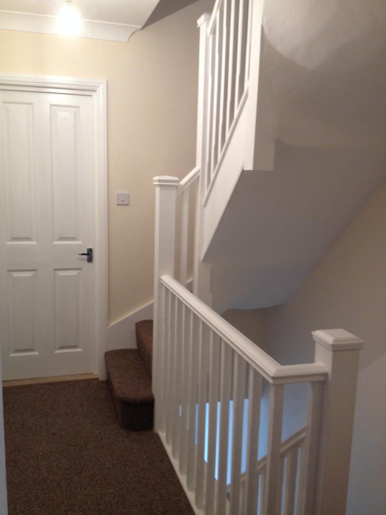 loft conversion stair designs - Loft conversion staircase Solent Roof & Building